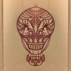 #mongolfiera #tattoo #missjuliet