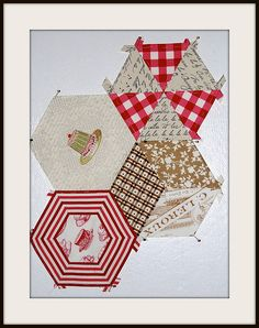 Hexalong anyone? by Lynne @ Lilys Quilts, via Flickr