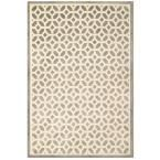 Sonoma Duoro Light Blue 5 ft. 3 in. x 7 ft. 6 in. Area Rug, Light Blue And Ivory