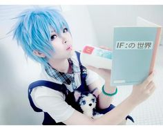 Awww #2 is sooo kawaii in this Cosplay of Kuroko Testuya from Kuroko's Basketball