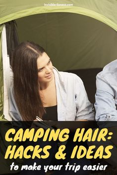 """Excited to go on a camping trip soon but no idea which hairstyles will work? These tips will help you avoid the infamous """"camping hair""""! Healthy Hair Tips, Healthy Hair Growth, Hair Growth Tips, Natural Hair Growth, Growing Out Short Hair Styles, Grow Long Hair, Long Hair Styles, Camping Hairstyles, Easy Hairstyles For Long Hair"""