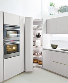 Enchanting Tall Corner Kitchen Unit: decor & tips white kitchen cabi with…