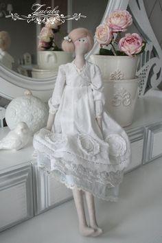 Куклы Тильды ручной работы. Ярмарка Мастеров - ручная работа Кукла в стиле Тильда Грейс. Handmade.