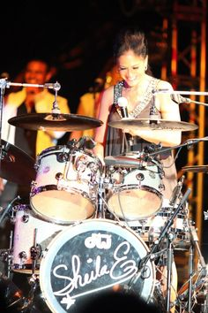 Sheila E. One of THE best drummers ever!