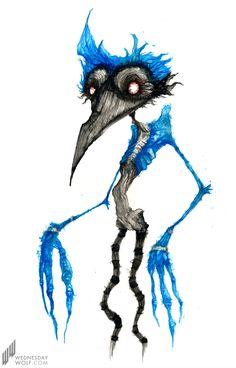 Regular Show- Mordecai- A bird is the word.