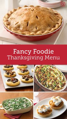 Foodie Thanksgiving Menu Not one for tradition? Break free and try a trendy twist on a Thanksgiving classic. Source by jbhireable Thanksgiving Treats, Thanksgiving Side Dishes, Thanksgiving Turkey, Thanksgiving Blessings, Fall Recipes, Holiday Recipes, Holiday Foods, Christmas Desserts, Dinner Recipes