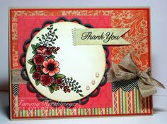 Wonderful colors!  Lovely card.