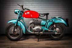 A colourful Iso 125 from 1961. The Italian competition to the BSA Bantam