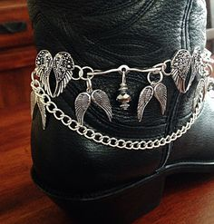 Boot Jewelry Boot Bracelet Boot Bling Western by DorysBoutique Boot Jewelry, Anklet Jewelry, Anklets, Boot Bracelet, Ankle Bracelets, Cowgirl Boots, Western Boots, Cowgirl Bling, Christian Bracelets