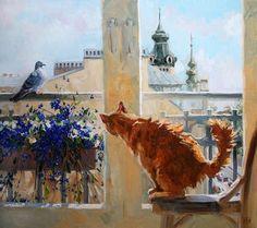Artist: Maria Pavlova (St. Petersburg, Russia) Художник Мария Павлова.