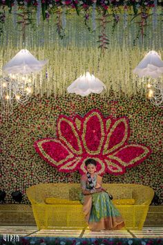One of the most chirpiest couple, Naveen and Keerthana, met at a typical South-I. Wedding Hall Decorations, Marriage Decoration, Backdrop Decorations, Baby Shower Decorations, Flower Decorations, Backdrops, Wedding Stage Design, Astrology And Horoscopes, Real Weddings