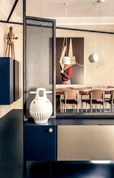 UdA Architects ont récemment rénové un appartement de 180 m² à Paris pour Isis Colombe Combréas