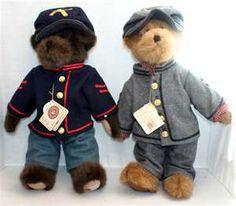 Boyds Bears Mason Dixon Civil War T.J.'s Best Set! — FoundValue