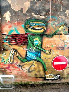Binho - street art - Marseille 6 / cours julien, rue crudere (aout 2014)