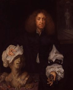 Portrait of a collector : Attributed to Jacob Huysmans, 'Portrait of a collector, possibly Thomas Chiffinch', c.1655–60. Oil on canvas. -National Portrait Gallery, London-