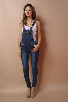 Denim bib overalls. Comfy and adorable. 100% Cotton