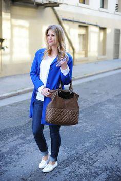 Britt + Whit: Blue & Oversized
