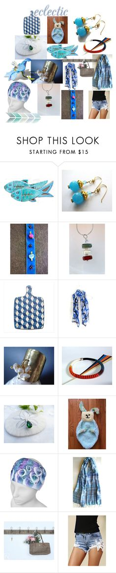 """""""Eclectic Summer Gifts"""" by anna-recycle ❤ liked on Polyvore featuring modern, rustic and vintage"""