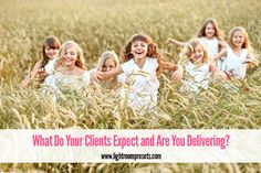 What do your clients expect from you?