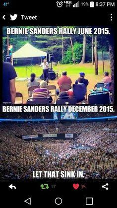 Bernie Sander 2016 #FeelTheBern                              …