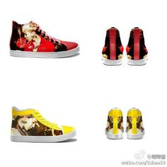 Big Bang kpop shoes the red one for you Rita! c95463a24