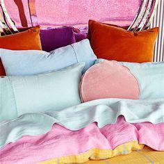 Hounding lemon + Cashmere rose duvet cover – Antipodream