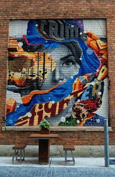 Exploring Detroit Murals for a Free Art Show in the Motor City - Awesome Mitten Murals Street Art, Street Art Graffiti, Mural Art, Wall Art, Urban Street Art, 3d Street Art, Street Artists, Graffiti Artists, Detroit Art