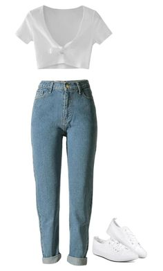"""rachel green // friends"" by leylacontreras on Polyvore featuring WithChic"