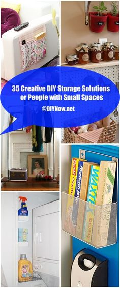 35 Creative DIY Storage Solutions for People with Small Spaces
