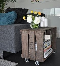 Domácí hrátky s bedýnkami | Elegantní bydlení