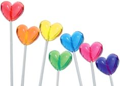 heart lollipops $42 for 120 from candywarehouse