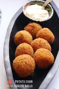 Potato cheese balls recipe | fried cheese balls Snacks Potato Cheese Balls Recipe, Cheese Ball Recipes, Cheese Potatoes, Fried Cheese, Corn Cheese, Tea Time Snacks, Party Snacks, Chopped Cheese, Potato Snacks