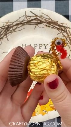 Ferrero Rocher Turkey Treats
