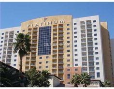 Beautiful condo hotel room at Platinum Hotel #zipinlasvegas