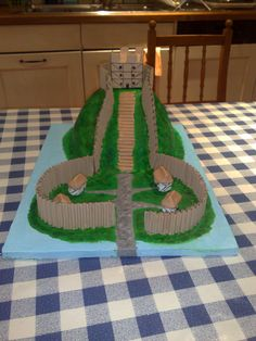 Kelsey's Motte and Bailey Model yr 7 front view