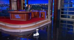 Colbert Has A Mini Pope In Case You Missed The Real One