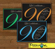 best tips easy to create 90th birthday invitations invitations