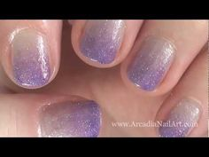 ❀ Blog - http://www.arcadianailart.com   ✼ Twitter - https://twitter.com/ArcadiaNailArt   ❂ How To Paint Your Other Hand - http://www.arcadianailart.com/p/one-of-most-common-questions-im-asked.html     So this is how I do my gradient nail art.  I'm a bit of perfectionist so I like my gradients to be really......gradiated?  Wtf is the word???    Ummm...