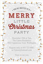 free printable christmas invitation template   printable christmas, Party invitations