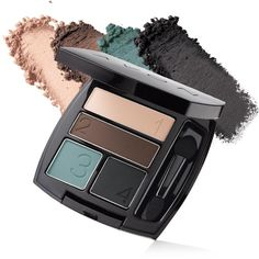 True Color Matte Eyeshadow Quad | Avon Metallica www.youravon.com/ annecoddington