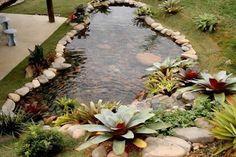 como-fazer-um-lago-para-peixes-no-jardim
