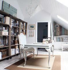 """Sometimes, all it takes is a coat of paint to completely reinvent a piece. Blogger Shuanna West's go-to shade? White. """"You can never go wrong with white,"""" she says. """"White paint looks instantly fresh and good on almost anything."""""""
