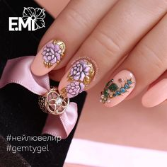 """79 Likes, 2 Comments - Emi School Полтава (@emischool_poltava_) on Instagram: """"Мой новый #emimanicure поближе! На безымянном пальце дизайн лишний... Но мне очень хотелось…"""""""