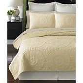 Martha Stewart Collection Bedding, Cornice Quilts