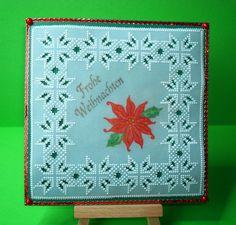 Pergamentkunst - Parchment Craft, Weihnachtsstern