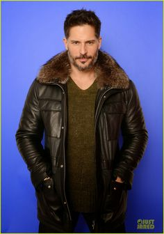 Celeb Diary: Joe Manganiello seen with his girlfriend Bridget Peters at Udi's Gluten Free Table Pop-up Café during the 2014 Sundance Film Fe...