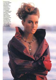 1990 | December | GRAZIA with Amber Valletta