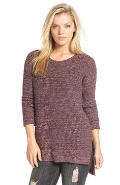 Free shipping and returns on BP. Textured Knit Pullover at Nordstrom.com. A scooped neckline and vented high/low hem give cool slouch to a cozy sweater in a marled-knit cotton blend.