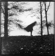 Mary Beth Edelson, The Nature of Balancing, Port Clyde, Me. Inspiring Art, Inspirational, Shaman Woman, Gelatin Silver Print, Woman Art, Female Art, Bald Eagle, Witch, Mary