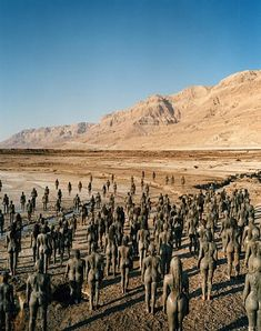 Spencer Tunick, Dead Sea, Israel